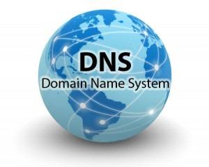 меняем DNS на новый сервер